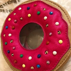 Betsey Johnson donut purse